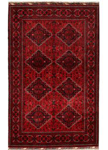 Dark Red Khal Mohammadi 4' 1 x 6' 9 - No. 69123