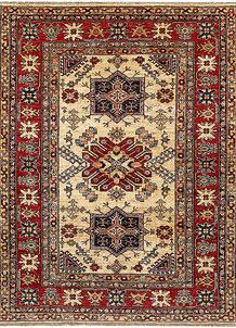 Cornsilk Kazak 5' x 6' 6 - No. 69139