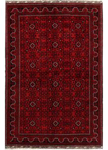 Dark Red Khal Mohammadi 6' 4 x 9' 5 - No. 69184