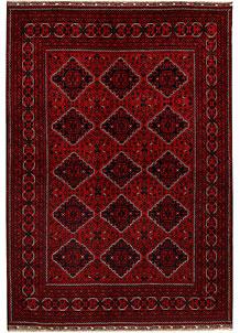 Dark Red Khal Mohammadi 6' 6 x 9' 2 - No. 69185