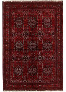 Dark Red Khal Mohammadi 6' 7 x 9' 7 - No. 69186