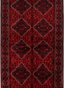 Dark Red Khal Mohammadi 3' 11 x 9' 10 - No. 69190