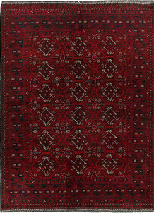 Dark Red Khal Mohammadi 4' 10 x 6' 6 - No. 69323