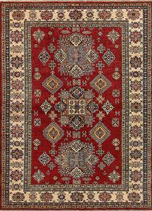 Dark Red Kazak 5' 8 x 7' 8 - No. 69345
