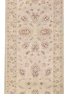 Antique White Oushak 2' 6 x 9' 6 - No. 69359