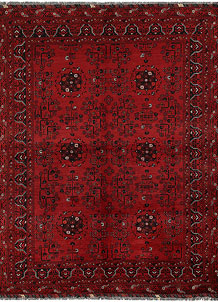 Firebrick Khal Mohammadi 4' 9 x 6' 3 - No. 69373
