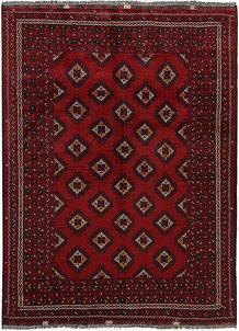 Dark Red Khal Mohammadi 4' 8 x 6' 4 - No. 69376