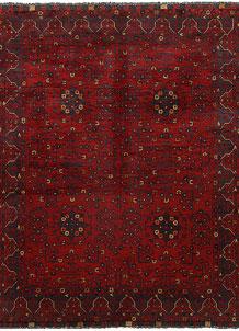 Dark Red Khal Mohammadi 4' 9 x 6' 2 - No. 69381