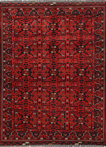 Firebrick Khal Mohammadi 4' 9 x 6' 4 - No. 69382