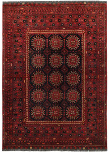 Multi Colored Khal Mohammadi 4' 9 x 6' 7 - No. 69385