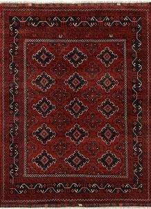 Firebrick Khal Mohammadi 4' 9 x 6' 5 - No. 69396