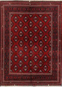 Firebrick Khal Mohammadi 4' 9 x 6' 5 - No. 69399