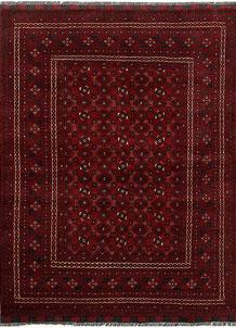 Dark Red Khal Mohammadi 4' 9 x 6' 4 - No. 69402