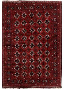 Dark Red Khal Mohammadi 6' 6 x 9' 5 - No. 69413