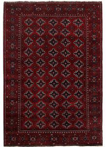 Dark Red Khal Mohammadi 6' 6 x 9' 7 - No. 69420