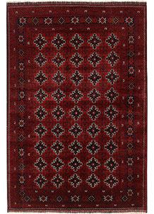 Dark Red Khal Mohammadi 6' 5 x 9' 7 - No. 69421