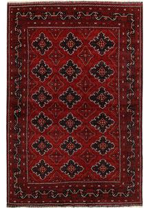 Dark Red Khal Mohammadi 6' 4 x 9' 7 - No. 69423