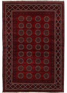 Dark Red Khal Mohammadi 6' 6 x 9' 7 - No. 69424