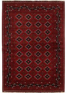 Dark Red Khal Mohammadi 6' 7 x 9' 7 - No. 69427