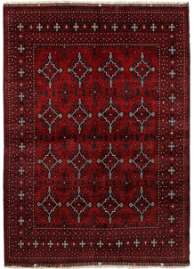 Dark Red Khal Mohammadi 6' 7 x 9' 3 - No. 69433