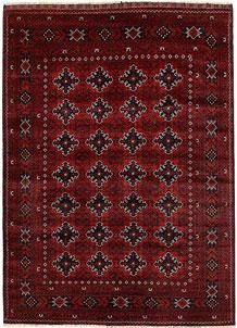 Dark Red Khal Mohammadi 5' 5 x 7' 7 - No. 69434