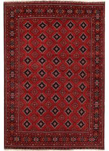 Dark Red Khal Mohammadi 6' 3 x 9' 3 - No. 69439