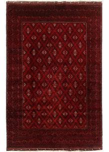 Dark Red Khal Mohammadi 6' 4 x 9' 8 - No. 69440