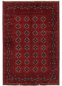 Dark Red Khal Mohammadi 6' 4 x 9' 4 - No. 69442