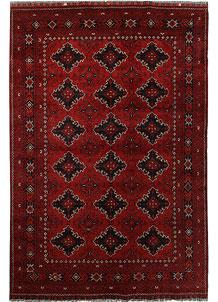 Dark Red Khal Mohammadi 6' 7 x 9' 8 - No. 69443