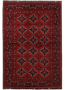 Dark Red Khal Mohammadi 6' 2 x 9' 1 - No. 69448