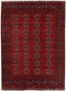 Dark Red Khal Mohammadi 6' 7 x 9' 6 - No. 69457