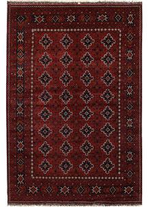 Dark Red Khal Mohammadi 6' 5 x 9' 4 - No. 69458