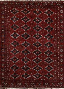 Dark Red Khal Mohammadi 9' 7 x 12' 6 - No. 69461