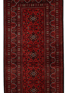 Dark Red Khal Mohammadi 2' 11 x 12' 7 - No. 69474