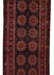 Black Khal Mohammadi 3' x 13' 1 - No. 69478