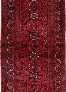 Dark Red Khal Mohammadi 3' 1 x 6' 7 - No. 69498