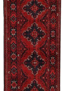 Dark Red Khal Mohammadi 2' 7 x 12' 7 - No. 69499