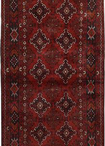 Dark Red Khal Mohammadi 3' 1 x 6' 4 - No. 69503