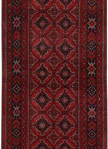 Dark Red Khal Mohammadi 2' 11 x 6' 8 - No. 69504