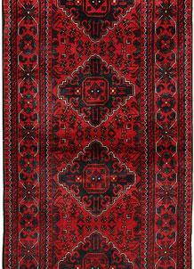 Dark Red Khal Mohammadi 2' 7 x 6' 4 - No. 69571