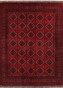 Dark Red Khal Mohammadi 9' 9 x 12' 6 - No. 69581