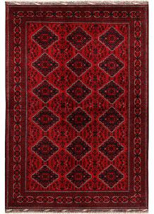 Dark Red Khal Mohammadi 6' 6 x 9' 9 - No. 69586