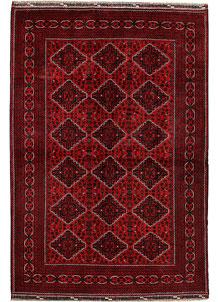 Dark Red Khal Mohammadi 6' 4 x 9' 6 - No. 69589