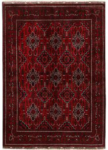 Dark Red Khal Mohammadi 6' 4 x 9' 4 - No. 69590