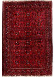 Dark Red Khal Mohammadi 6' 6 x 9' 7 - No. 69591