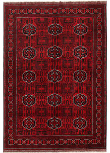 Dark Red Khal Mohammadi 6' 5 x 9' 2 - No. 69593