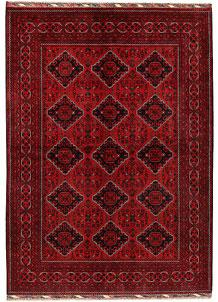 Dark Red Khal Mohammadi 6' 6 x 9' 3 - No. 69595