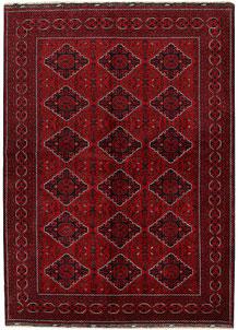 Dark Red Khal Mohammadi 6' 6 x 9' 6 - No. 69596