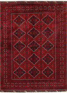 Dark Red Khal Mohammadi 6' 6 x 8' 8 - No. 69598