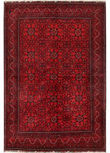 Dark Red Khal Mohammadi 6' 8 x 9' 9 - No. 69599